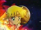 Dead Super Sailorvenus in front of her guardian planet
